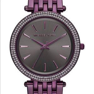 NWT Michael Kors Purple watch